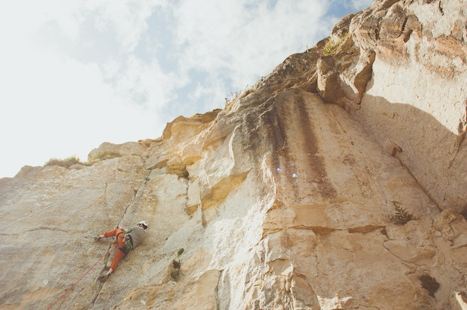rock climbing courses portland uk