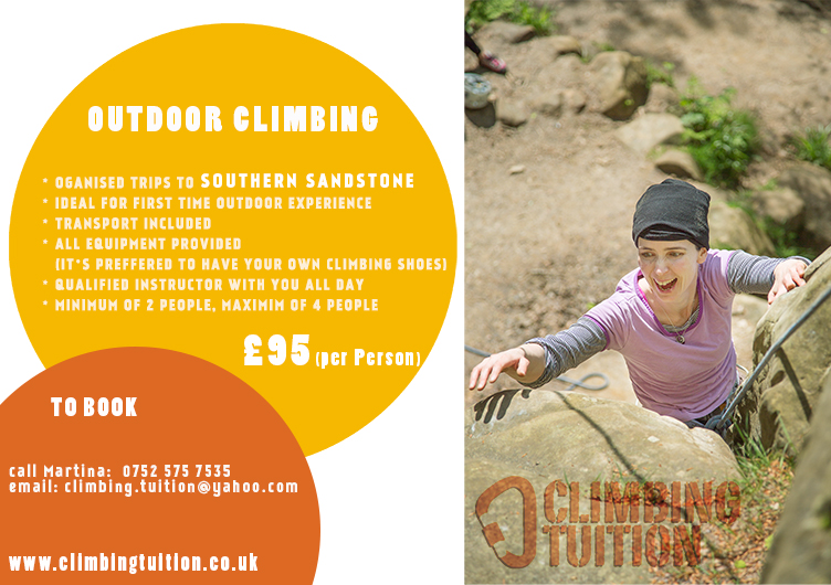 Rock Climbing Kent